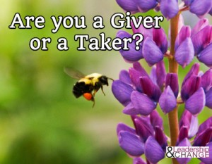 Giver or Taker