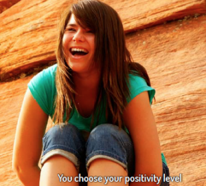 choose positivity level